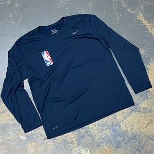 Nike NBA Long Sleeve Dri-Fit Shirt 727980-419 XL